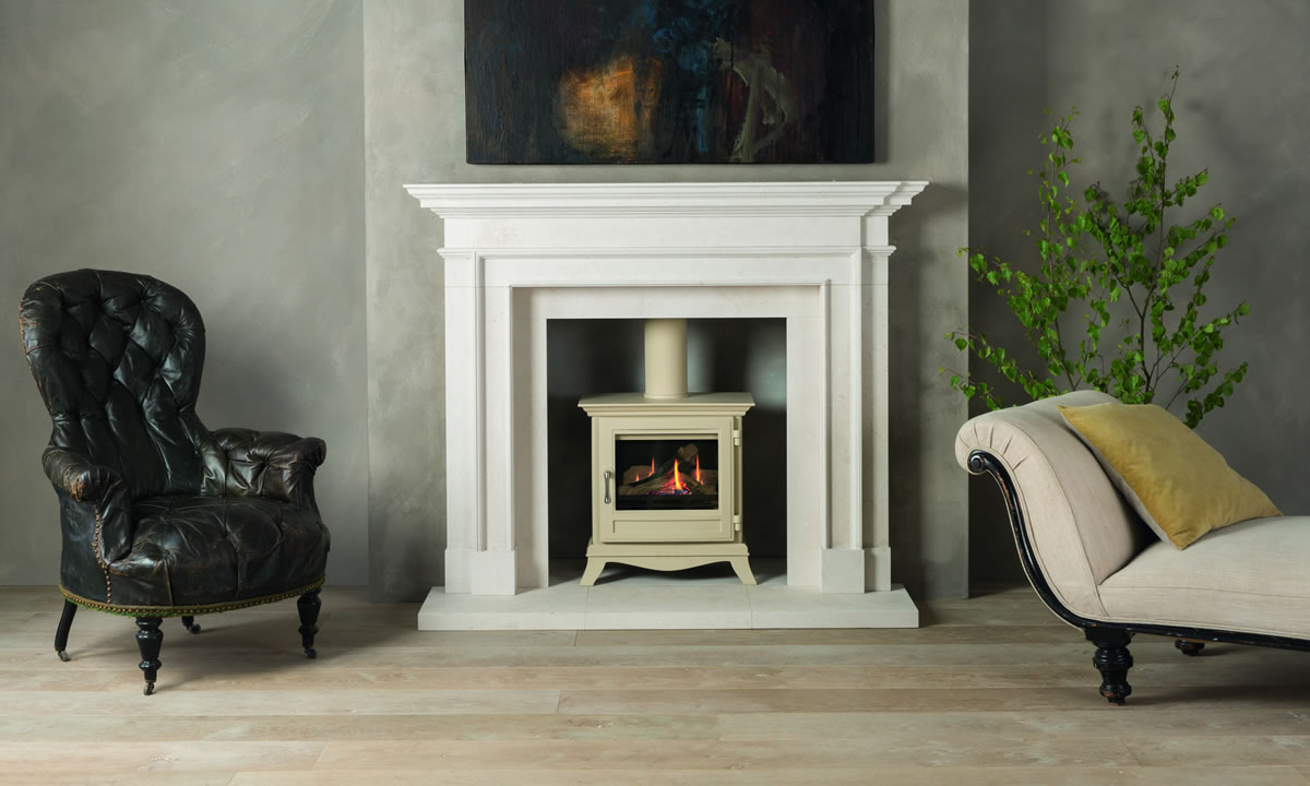 Chesneys Beaumont Cream Stove