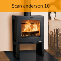 Andersen 10 Wood Stove – Northwest Stoves Ltd. – Stoves Fireplaces